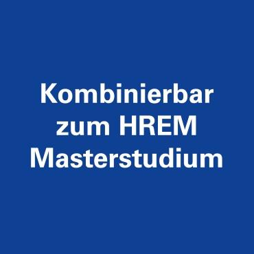 Kombinierbar zum HREM Masterstudium