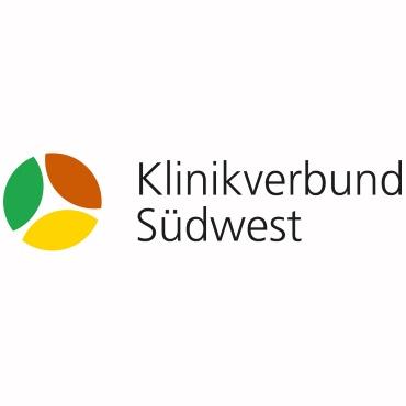Icon mit Unternehmenslogo und Link: Klinikverbund Südwest