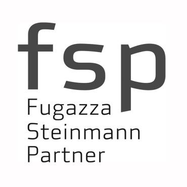 Icon mit Unternehmenslogo und Link: fsp