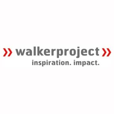 Icon mit Unternehmenslogo und Link: Walkerproject