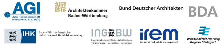 Logos der Auslober des IREM industriebaupreises (c)