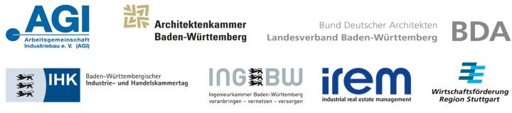 Logos der Auslober des IREM industriebaupreises