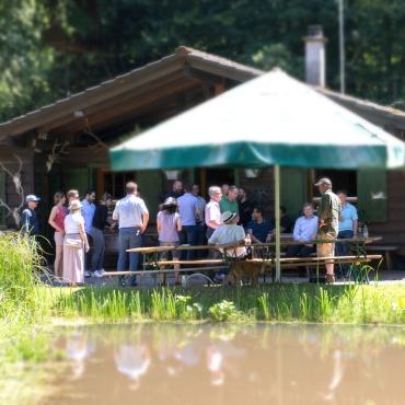 Foto Beisamensein Fischhütte 01