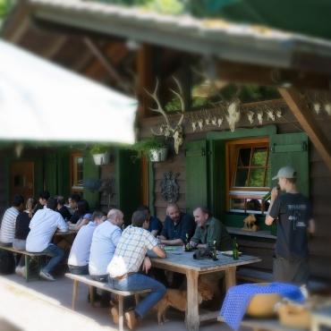 Foto Beisamensein Fischhütte 02