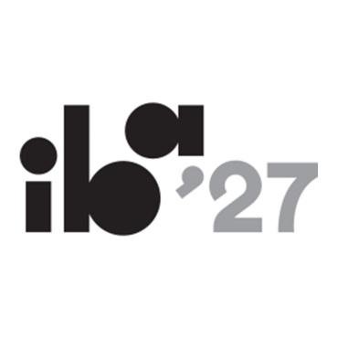 Icon mit Logo und Link: IBA´27