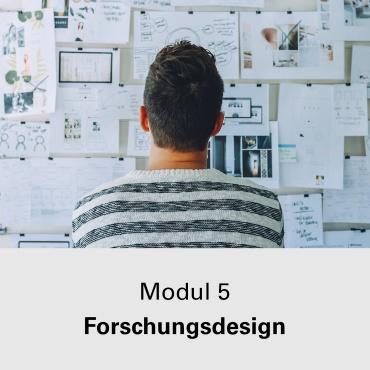 Modul 5 Forschungsdesign