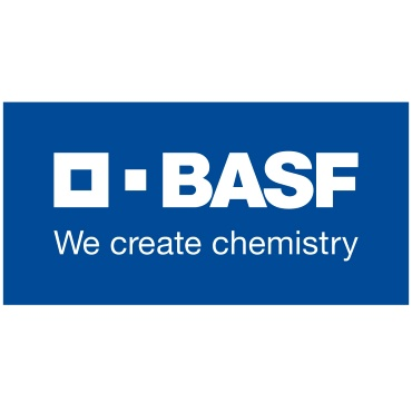 Icon mit Unternehmenslogo und Link: BASF