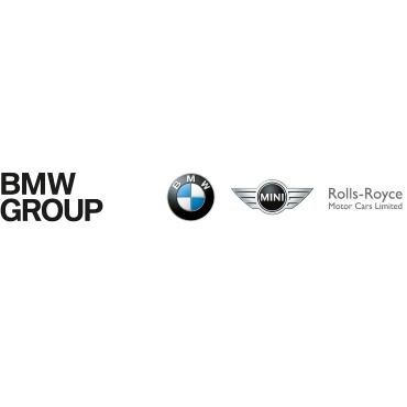 Icon mit Unternehmenslogo und Link: BMW Group