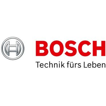 Icon mit Unternehmenslogo und Link: Bosch