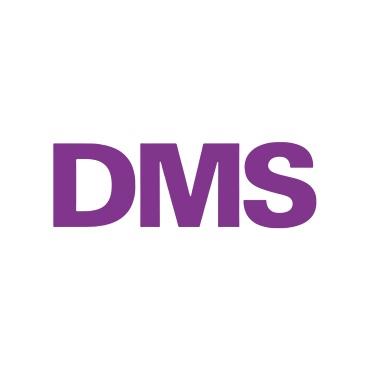 Icon mit Unternehmenslogo und Link: DMS