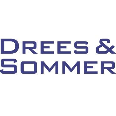 Icon mit Unternehmenslogo und Link: Drees und Sommer