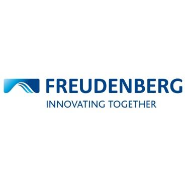 Icon mit Unternehmenslogo und Link: Freudenberg