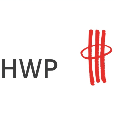 Icon mit Unternehmenslogo und Link: HWP Planungsgesellschaft