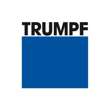 Icon mit Unternehmenslogo und Link: Trumpf