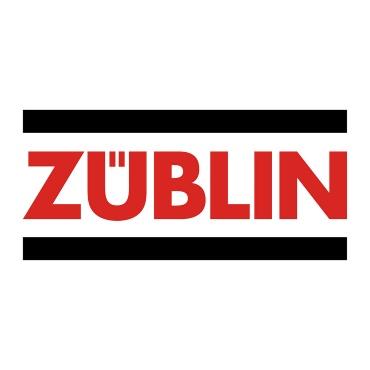 Icon mit Unternehmenslogo und Link: Züblin