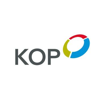 Icon mit Unternehmenslogo und Link: KOP