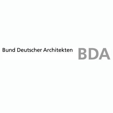 Icon mit Logo und Link: BDA
